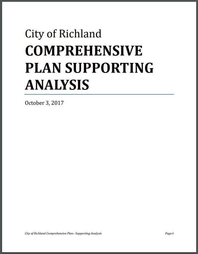 Comp Plan Supporting Analysis