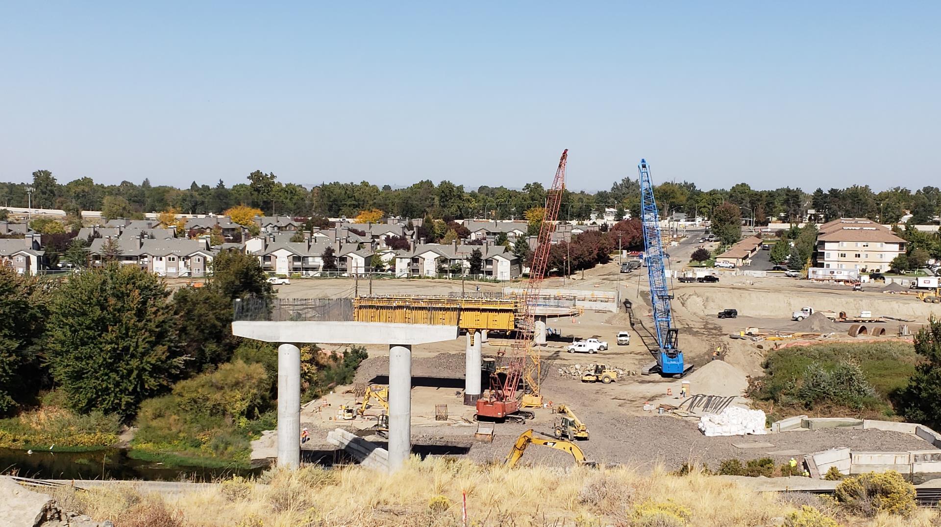 Duportail Bridge Progress 9.28.18