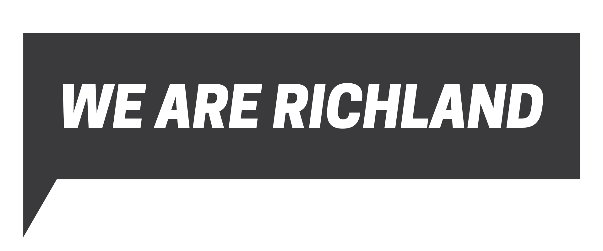 We Are richland logo