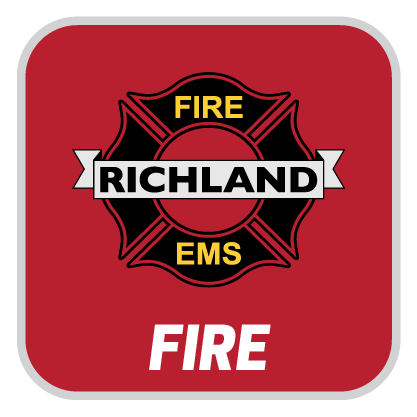 We are richland fire button