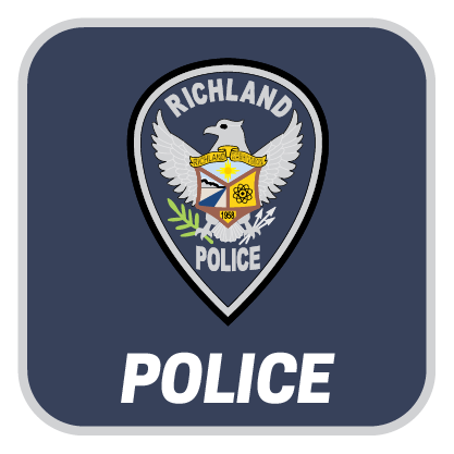 we are richland police button