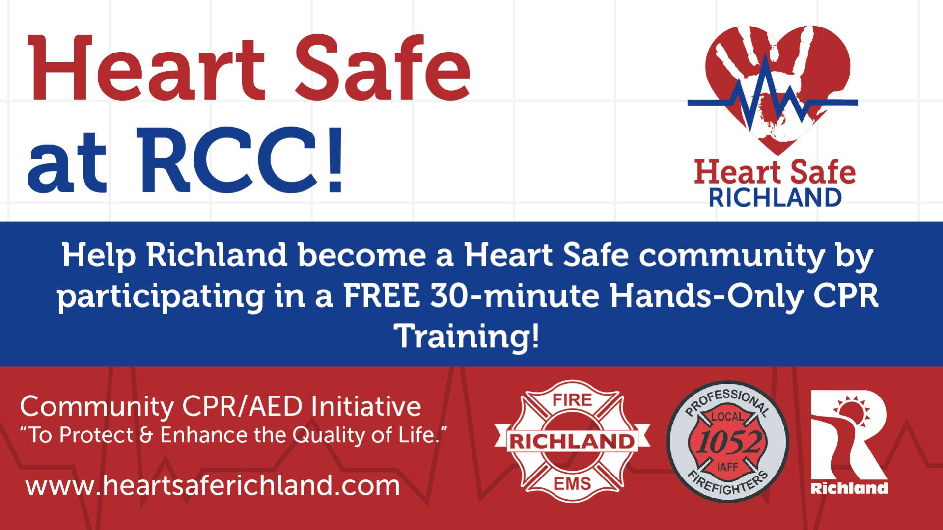 Heart Safe Richland CPR Classes